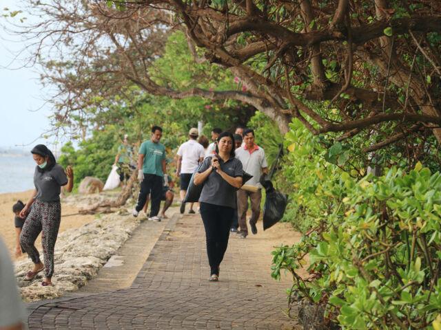 Environmental sustainability at Sanur Beach